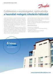 Optimalizálja melegvíz cirkulációs hálózatát