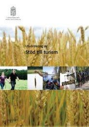 Utvärdering av stöd till turism - Länsstyrelserna