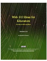 100+ Web 2.0 Ideas for Educators - Teaching Hacks.com