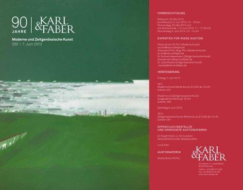 PDF zum download - Karl & Faber