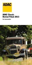 Ausschreibung ADAC Classic Revival Pokal 2013 ... - MSC Eppelborn