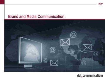 company presentation (pdf) - dot-communications