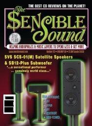 Sensible Sound 5/08 - NHT