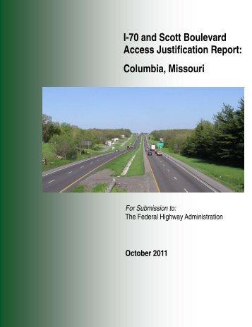 Access Justification Report - City of Columbia, Missouri