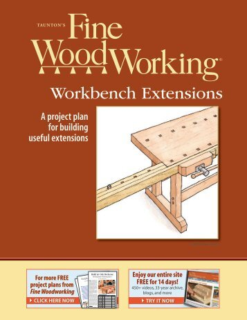 Workbench Extensions - Fine Woodworking