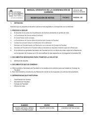 ¿Cómo solicitar la modificación de notas? - Facultad de Enfermería
