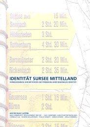 IDENTITÄT SURSEE MITTELLAND - Regiosuisse