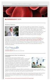 Newsletter Service de transfusion Berne_f_pdf - Blutspendedienst ...