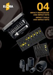 Impact-tools and impact-bits - Elora