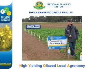 High Yielding Oilseed Local Agronomy - Directrouter.com