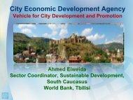 The Role of Economic Development Agency - LED