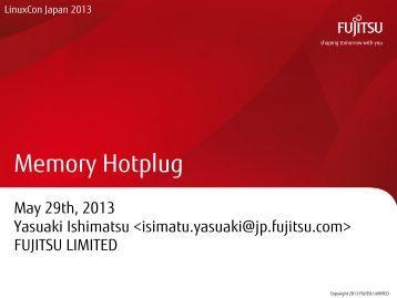 LinuxConJapan2013-Ishimatsu