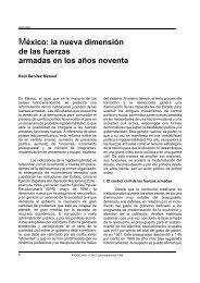 México: la nueva dimensión de las fuerzas armadas en ... - Fasoc.cl