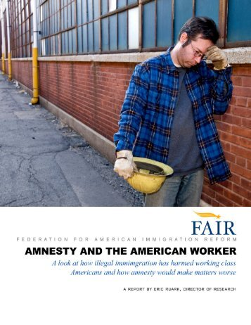 Amnesty On The American Worker |Federation For American ...