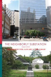 The Neighborly SubSTaTioN - Manhattan Institute