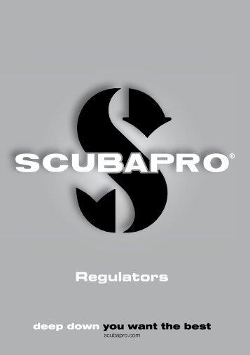 Regulators user manual - Scubapro