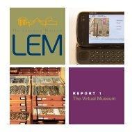 The Virtual Museum - Istituto per i Beni Artistici, Culturali e Naturali ...