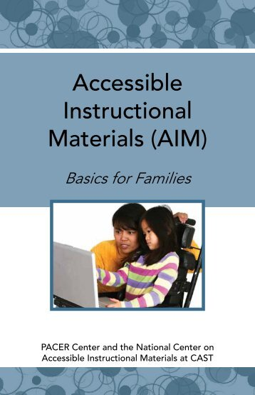 Basics for Families - National Center on Accessible Instructional ...