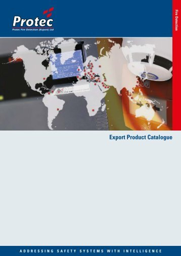 Download the Export Product Catalogue - Protec Fire Detection