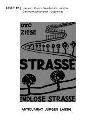 Liste 12 - Antiquariat-Laessig.de