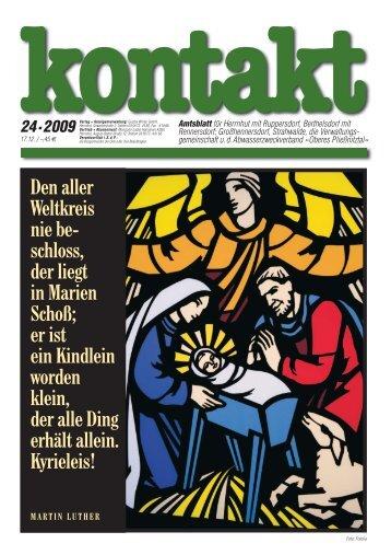 Ausgabe 24 (17.12.2009) PDF - Herrnhut