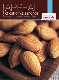 Consumer Demand Report - Almond Board of California