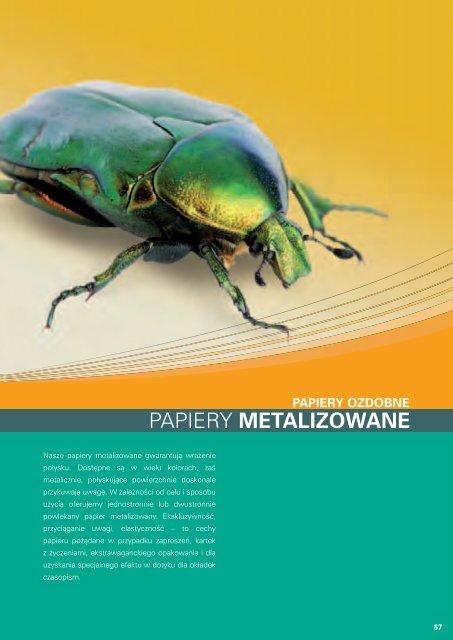 Papiery metalizowane (PDF 766 kB) - Europapier