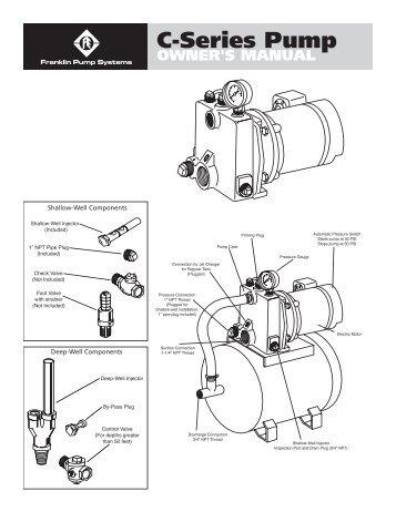OWNER'S MANUAL C-Series Pump - Franklin Electric