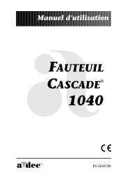 FAUTEUIL CASCADE - A-dec