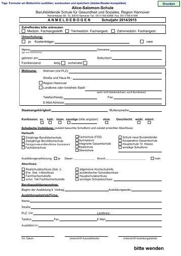 Muster Ausbildungsvertrag Medizinischer Fachangestellter