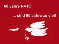 60 Jahre NATO… - Gipfelsoli