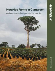 Herakles Farms in Cameroon - SAVE Wildlife Conservation Fund