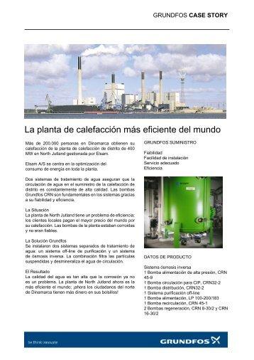 La planta de calefacción más eficiente del mundo - Grundfos