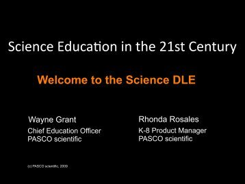 Download Science Presentation - Digital Learning Environments