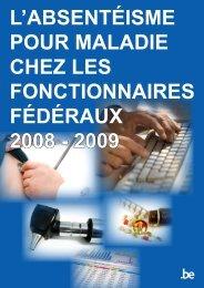 l'absentéisme pour maladie chez les fonctionnaires ... - Fedweb