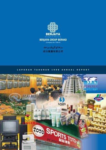 BERJAYA GROUP BERHAD - Berjaya Corporation Berhad