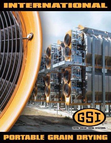 International Portable Grain Drying - GRAIN SYSTEMS INC.