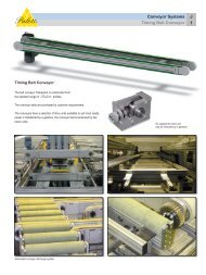 Conveyor Systems J Timing Belt Conveyor 1