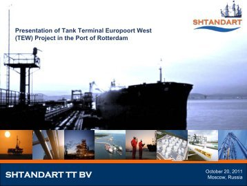 TEW Presentation Moscow - Port of Rotterdam