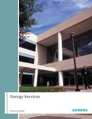 Energy Services - Siemens