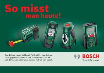 So misst - Bosch