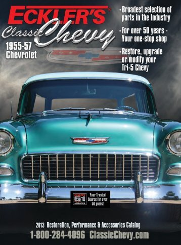 Complete Classic Chevy Catalog - Eckler's Classic Chevy