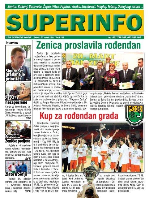 Zenica proslavila rođendan - Superinfo