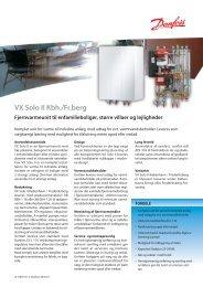 VX Solo II København / Frederiksberg - Danfoss Redan A/S