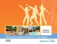 Belleview Townhomes Apartments Printable Brochure - Phoenix ...
