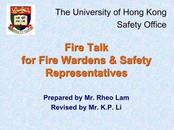 2. - Safety.hku.hk - The University of Hong Kong