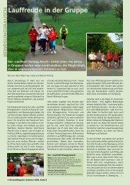 Lauffreude in der Gruppe - Birseck Magazin
