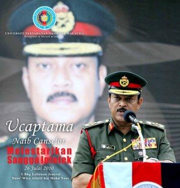 Ucaptama - Universiti Pertahanan Nasional Malaysia (UPNM)