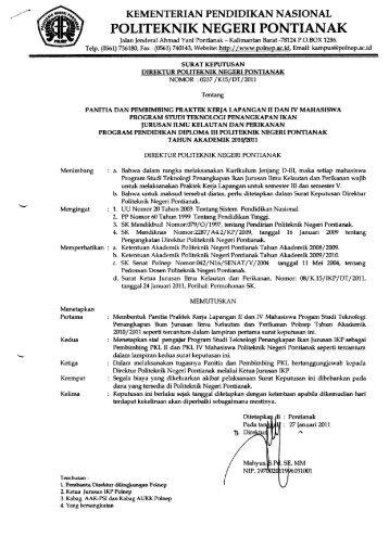 TPI - Politeknik Negeri Pontianak