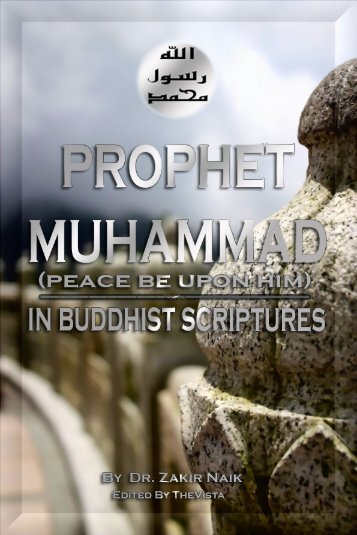 Prophet Muhammad(peace be upon him) in Buddhist Scriptures